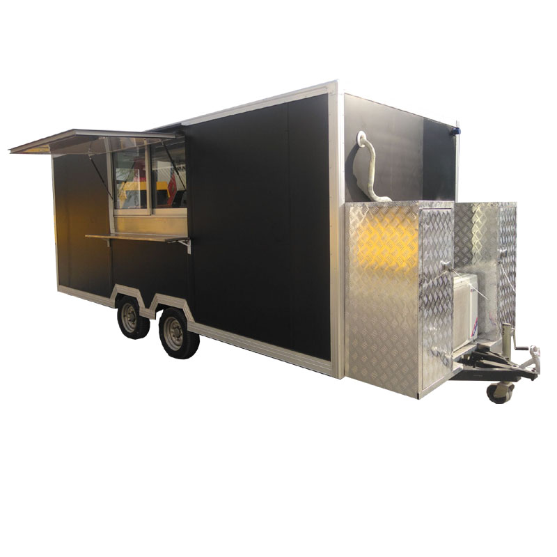 American Standard Mobile Turkey Turkish Grill Food Truck_Salad Display Food Trailer Truck