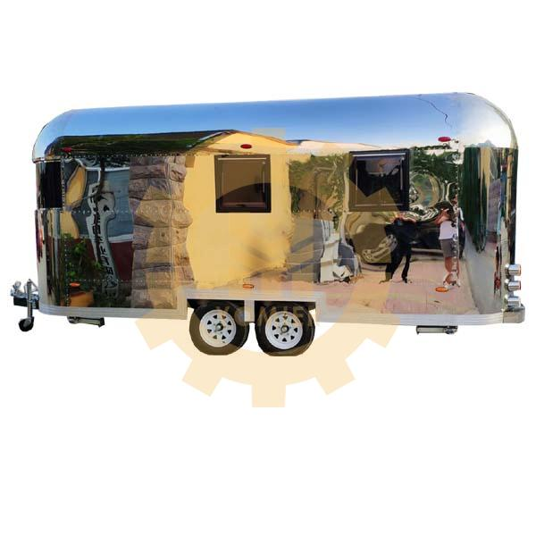 Street Towable Airsteam Food Truck_China Mobile Food Cart_Towable Burger Grill Food Trailer