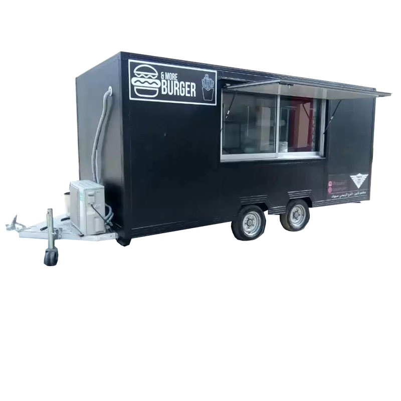 China Mobile Food Cart/Food Kitchen Truck/Burger Kiosk For Sale