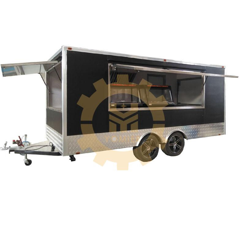 Customized Made Towable Food Truck/Ice Cream Cart/Mobile Shawarma Grill Trailer