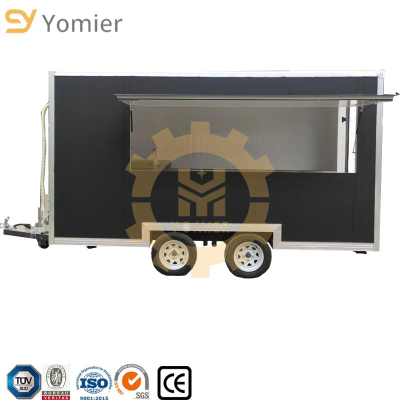 Commerical Mobile Food Kitchen Truck/Shawarma Grill Food Cart/Catering Food Trailer