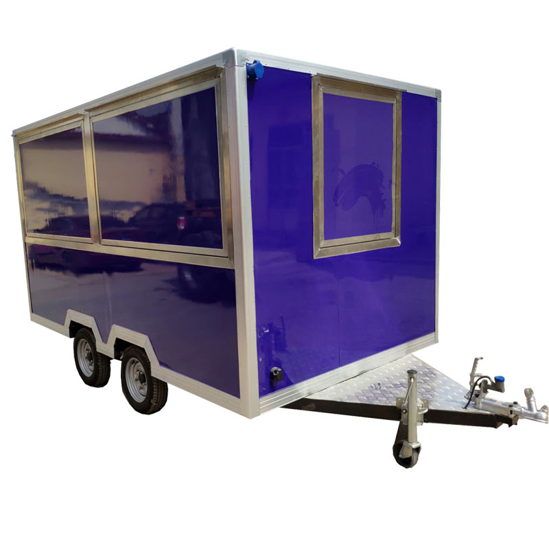 Street Food Vending Trailer/Towable Food Truck/Turkey Turkish BBQ Grill Cart