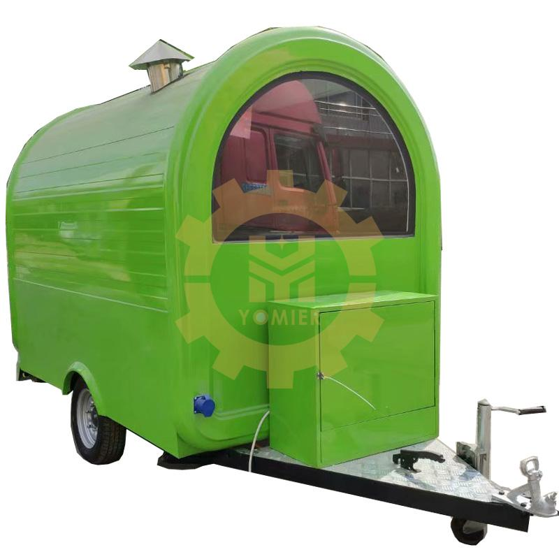 Yomier Made Small Mobile Food Cart/Fryer Food Truck Trailer