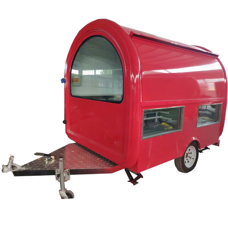 Australian Standard Fast Food Truck/Hot Dog Cart/Ice Cream Trailer