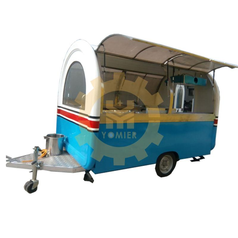 Mobile Fast Food Catering Trailer, Hot Dog Cart, Ice Cream Van