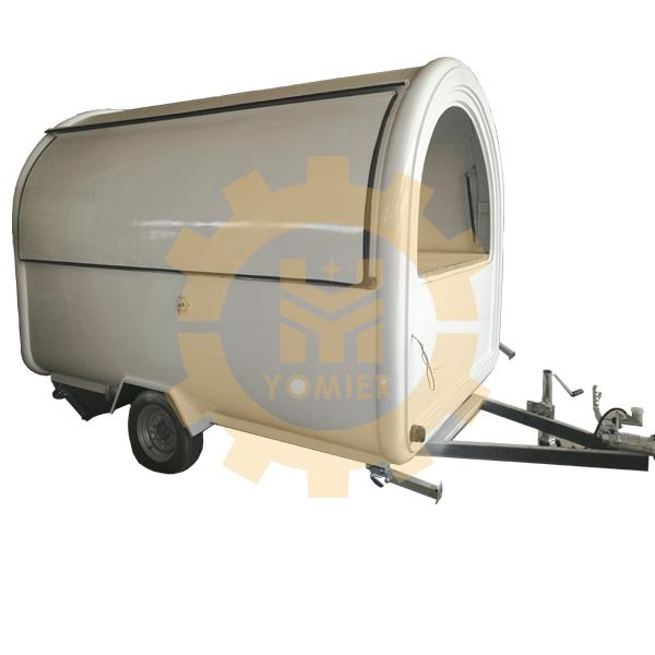 Hot Selling Small Towable Type Food Truck, Vegetables Display Food Cart, Food Service Trailer