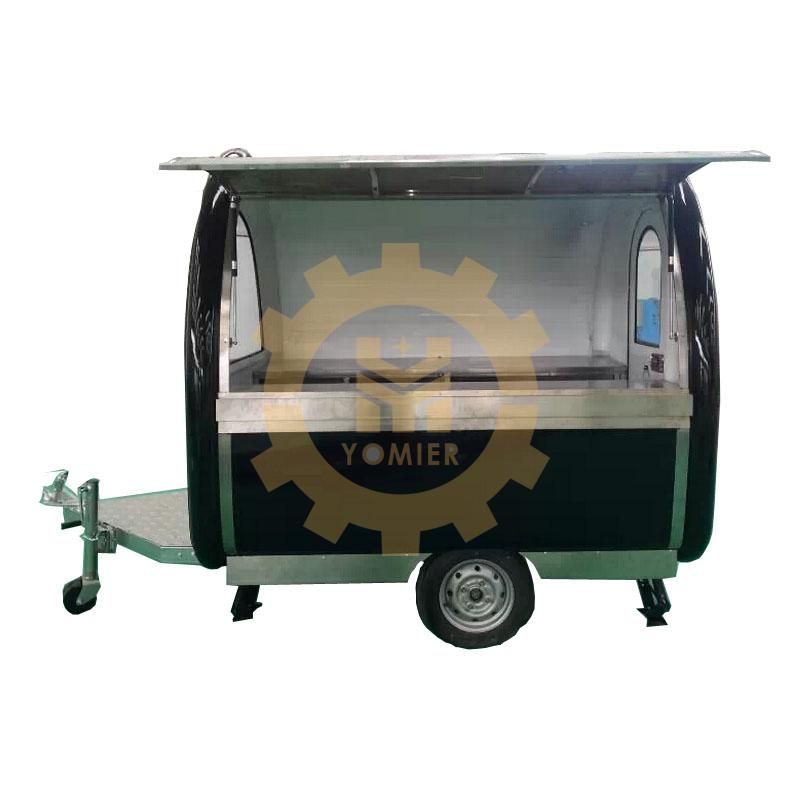 American Type Mobile Fryer Food Truck, Fast Food Cart Trailer