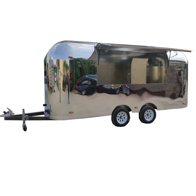 Hot Selling Stainless Steel Airsteam Food Trailer Truck