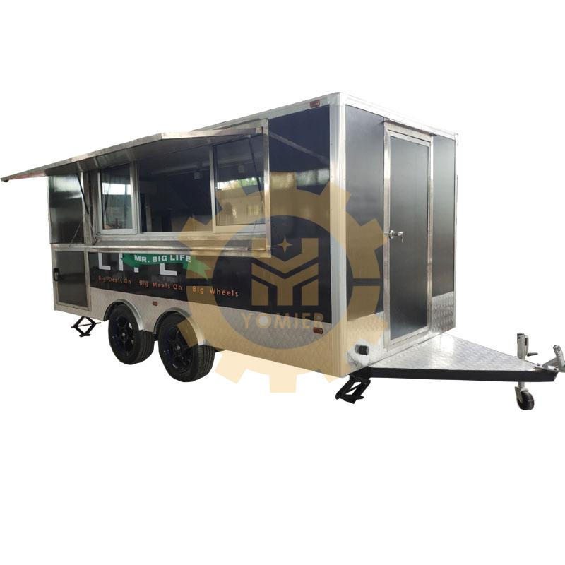 Food Carts Snack Machine Towable Food Truck For Sale