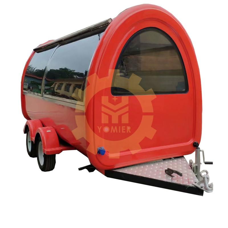 Australia Standard Small Stype Mobile Food Crepe Trailer