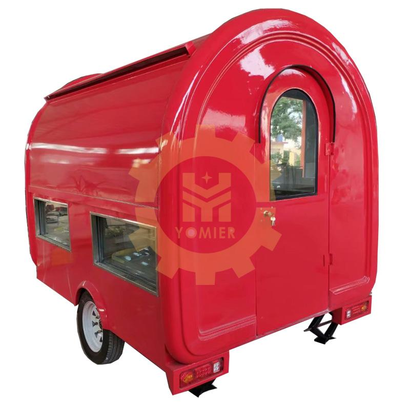 Mobile Fast Food Burger Grill Food Truck
