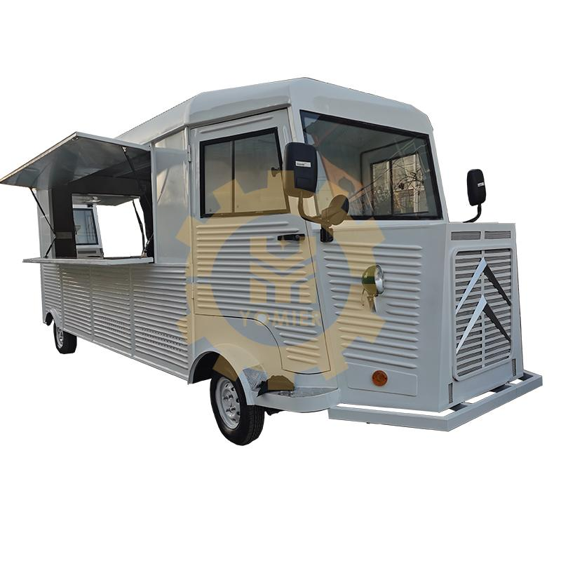 Mobile Electric Citroen Food Truck