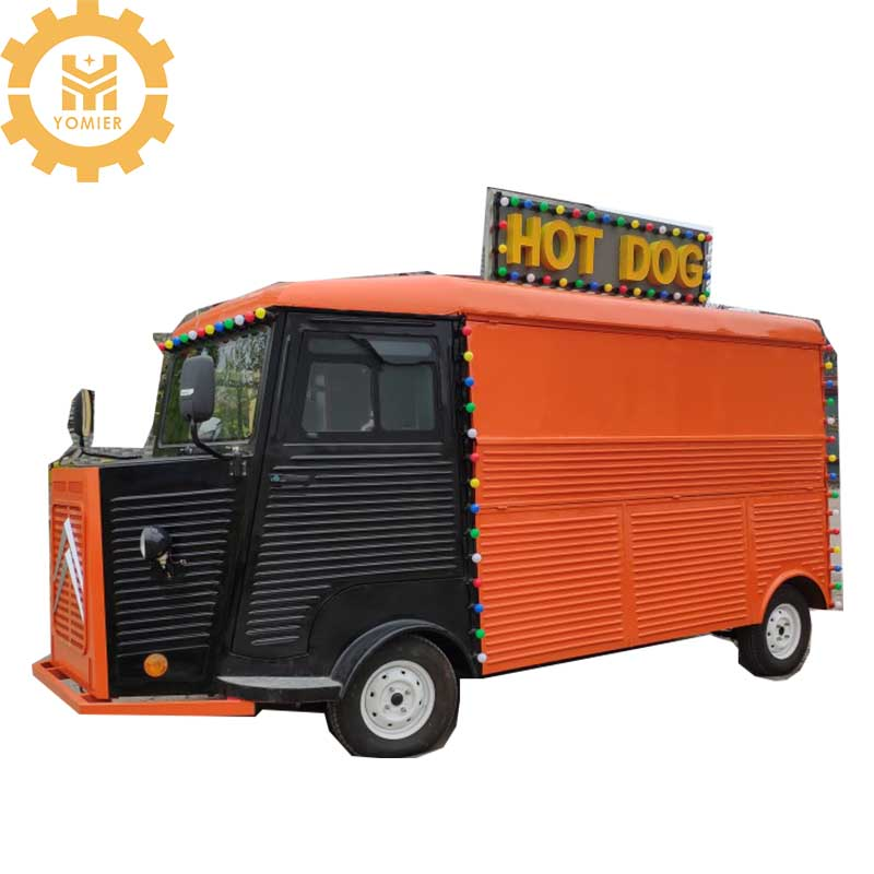 Electric Or Towable Citroen Food Truck